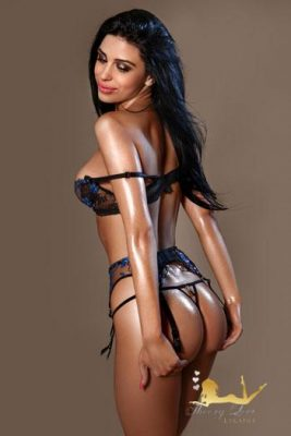 Black hair girl Dea has a very beautiful face and an amazing body