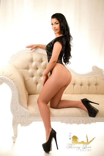 Marble Arch brunette female escort from Theory Love